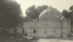 Burdwan - The Tomb of Shah Bahram. (Within this compound are also the tombs of Kutubuddin & Sher Afgan, well known in Indian history as the latter was the first husband of Nur Jehan)